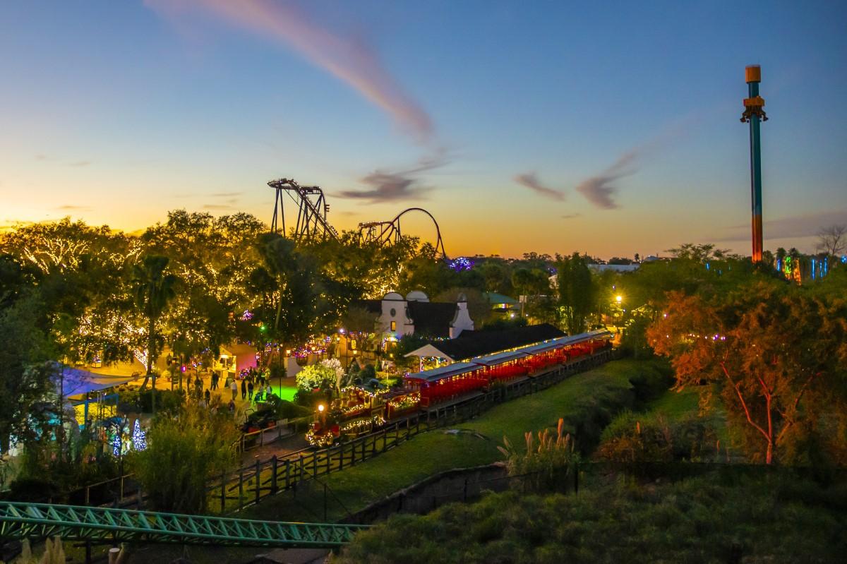 Busch Gardens Tampa el 16 de Noviembre