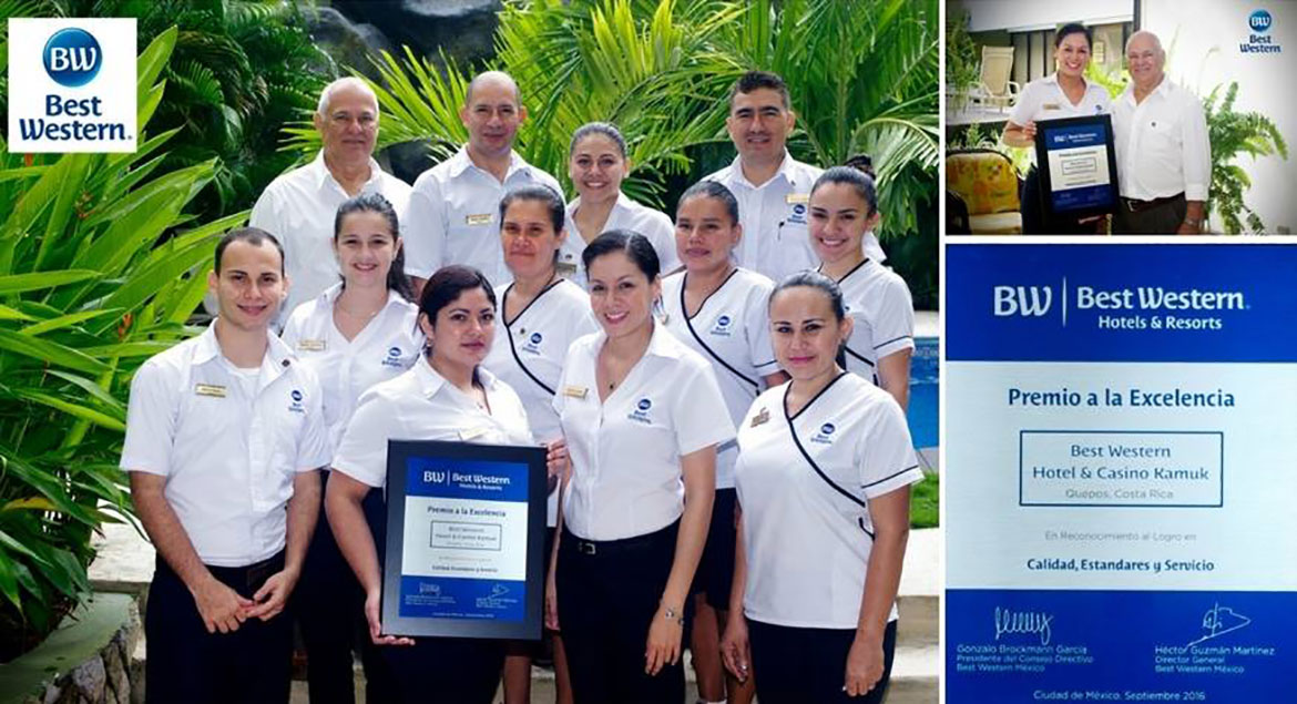 Equipo profesional del Best Western Kamuk Hotel & Casino